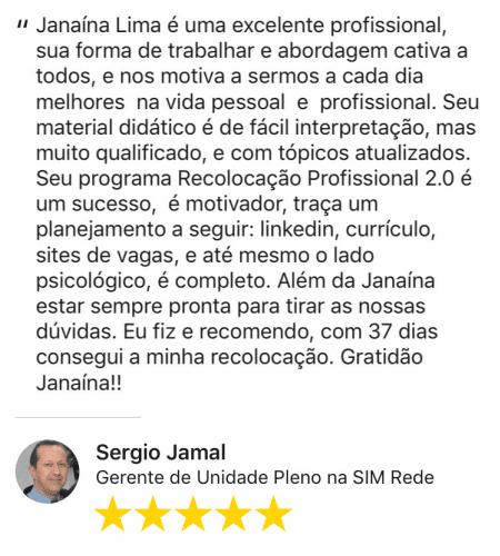 Depoimento Sergio Jamal 37 dias